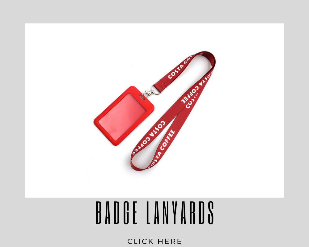 Badge  Custom Corporate Lanyards