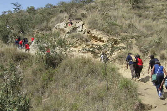 Mt. Longonot trekking expedition