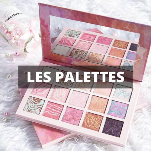 collection les pinceaux de maquillage