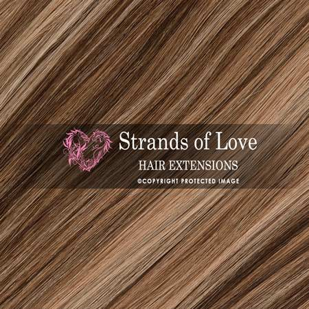 Strands Of Love Hair Extensions Colour Coffee Highlight