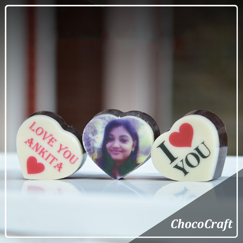 PERSONALISED CHOCOLATES