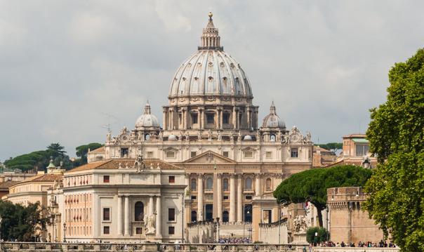Базилика Святого Петра и Кастель Сант-Анджело. Зарезервированная запись