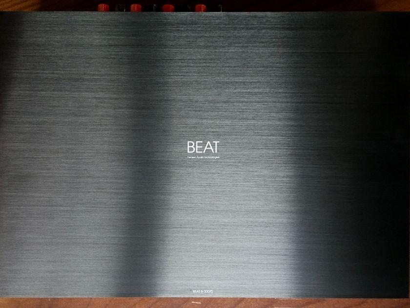 Densen Audio BEAT-300XS (2) Ch. 100 Watt Stereo Power Amp (USED) Finish: Black