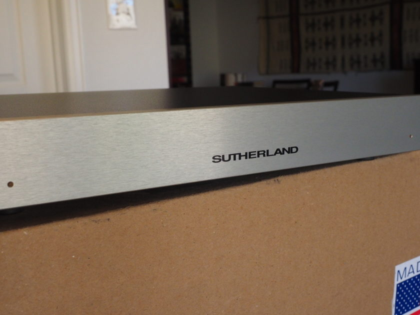Sutherland Engineering 20/20 phono preamp