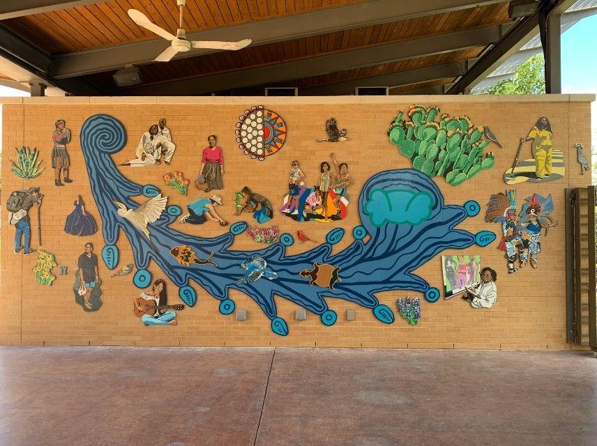 SAMA Community Mural by Suzy Gonzalez