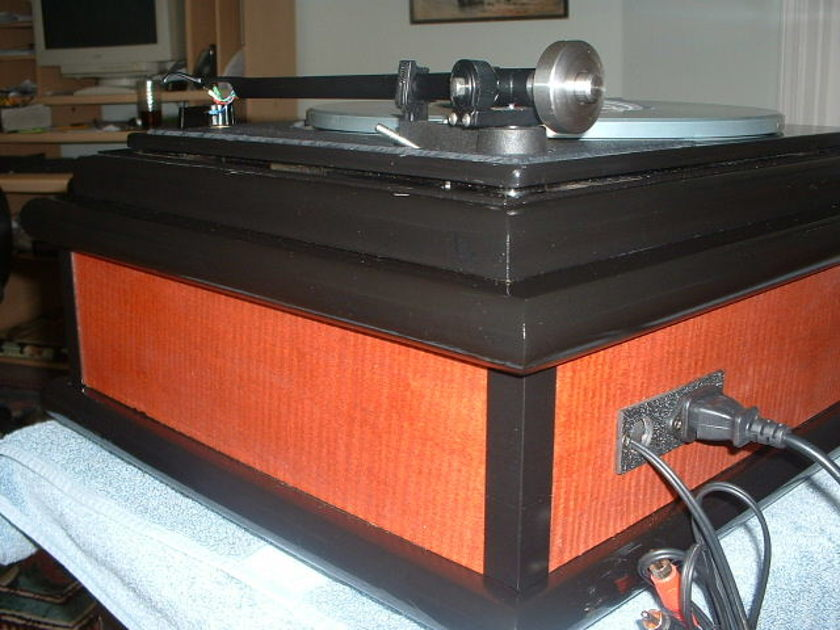 Custom Lenco Restoration Heavy Platter,Rega RB-300 Arm See Photos below
