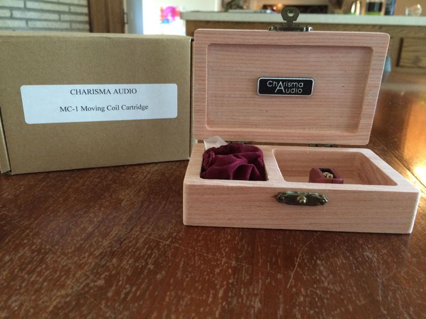Charisma Audio MC-1 Moving Coil Cartridge Like New