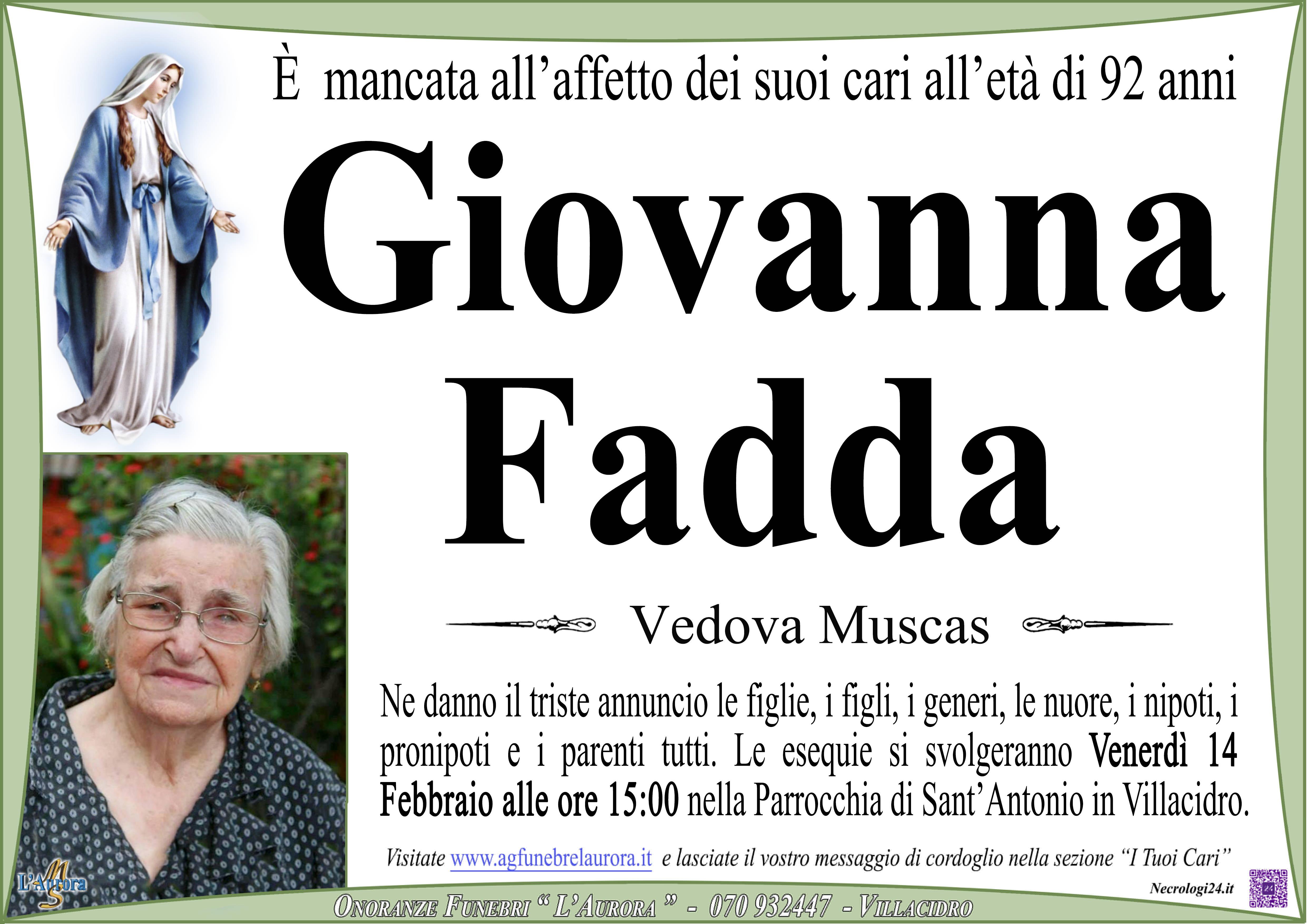 Giovanna Fadda