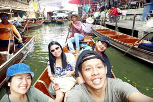 Floating Market & Unesco Temple