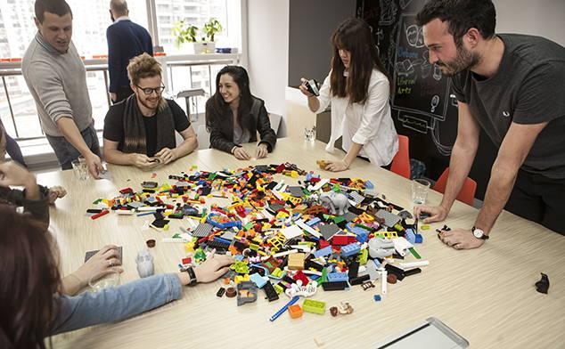 lego team buiilding