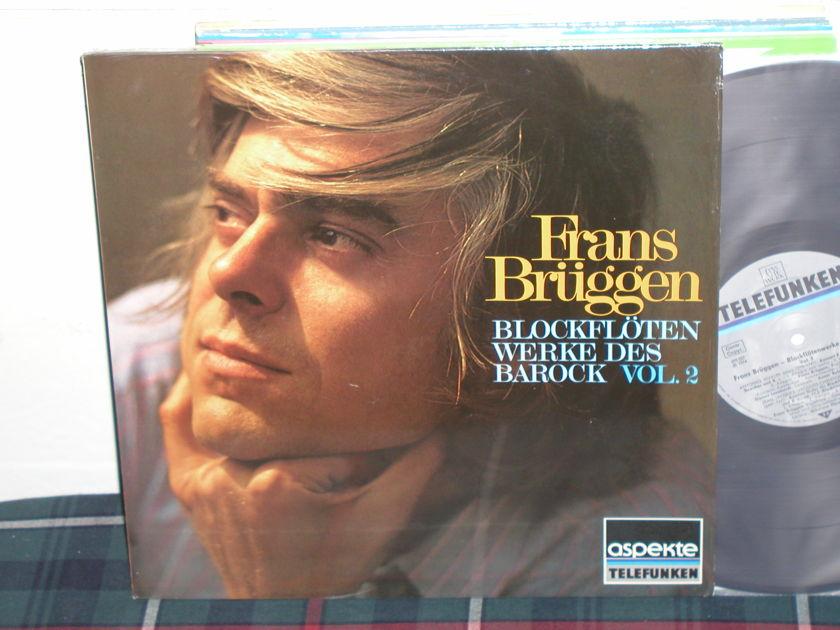 Frans Bruggen - Blockfloten Vol.2 Telefunken german imp.
