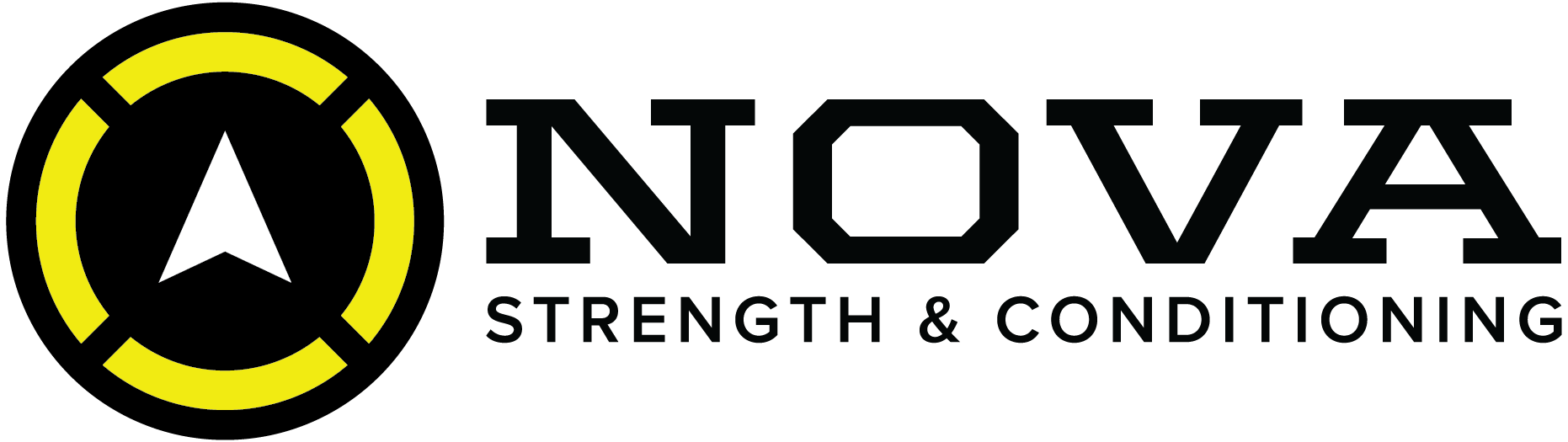 NOVA Strength and Conditioning | Home of NOVA Nutrition logo