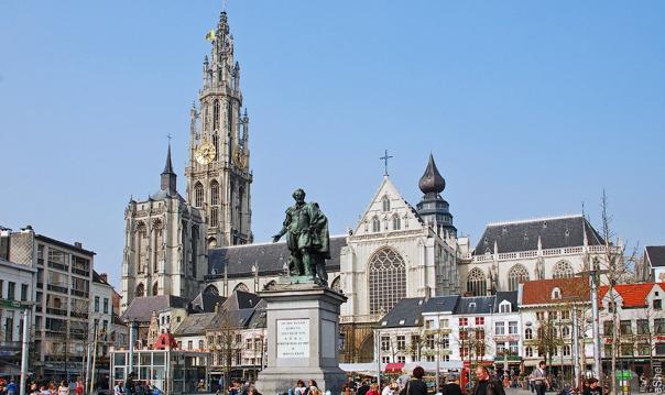 Антверпен, Гент (выезд из Кёльна)