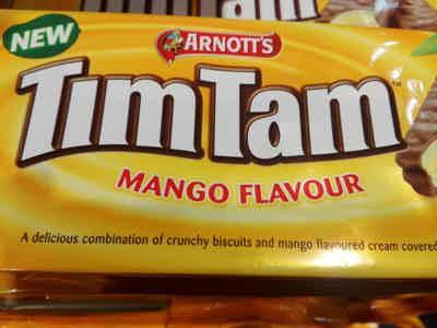 TimTam Chocolate Biscuit Mango Edition!