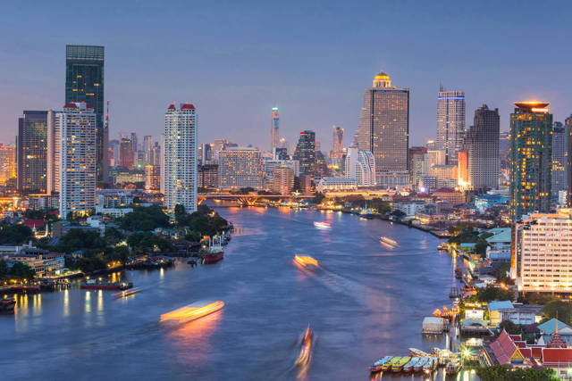 Evening Dinner Cruise in Bangkok
