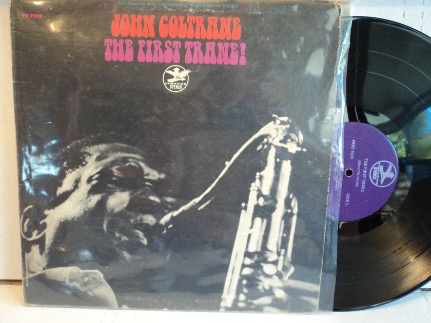 John Coltrane  - The First Trane! PRST 7609 RVG Prestige purple label 1st Stereo press