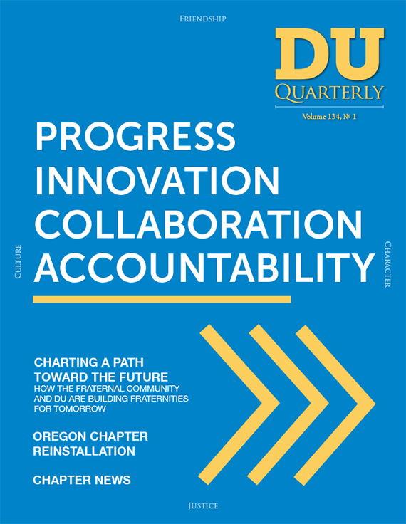 Cover for DU Quarterly Volume 134, No. 1