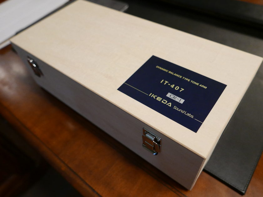 "Ikeda IT-407CR1  12"" Tonearm"
