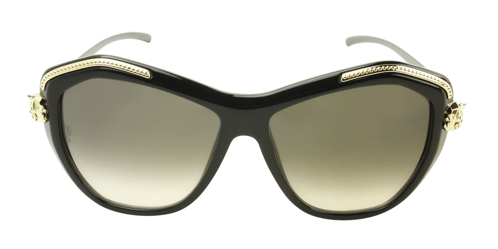 CARTIER WOMEN'S PANTHERE WILD T8201074 SUNGLASSES