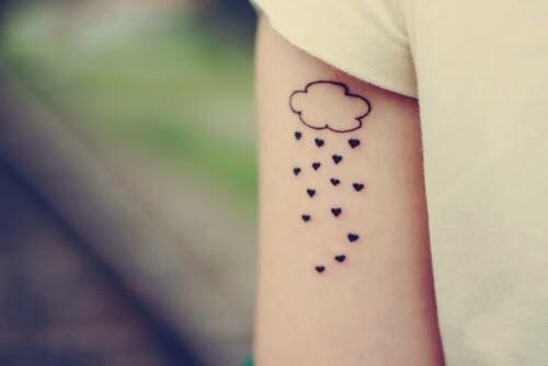 Magazine origine et signification du tatouage nuage - Signification etoile tatouage ...