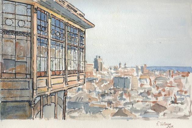 Генуя. Вид Сверху