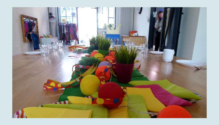 labyrinth kindermuseum geburtstags tischdeko