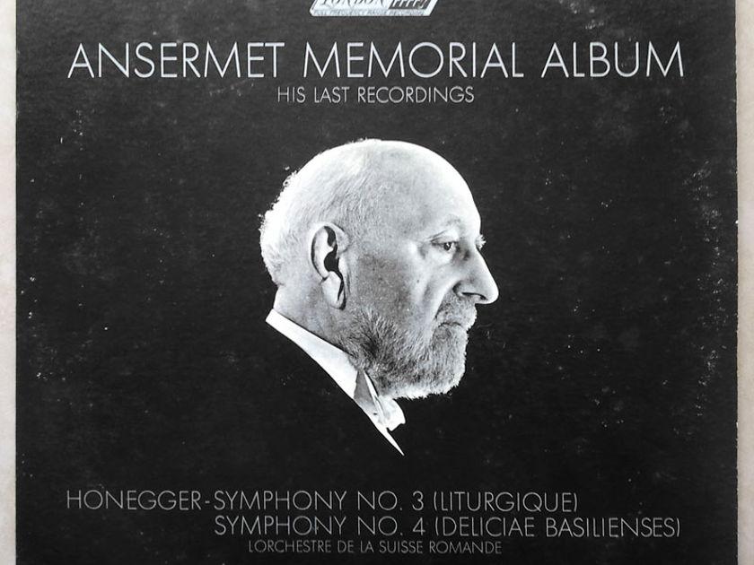 London ffrr/Ansermet/Honegger - Symphonies No. 3 & 4 / NM