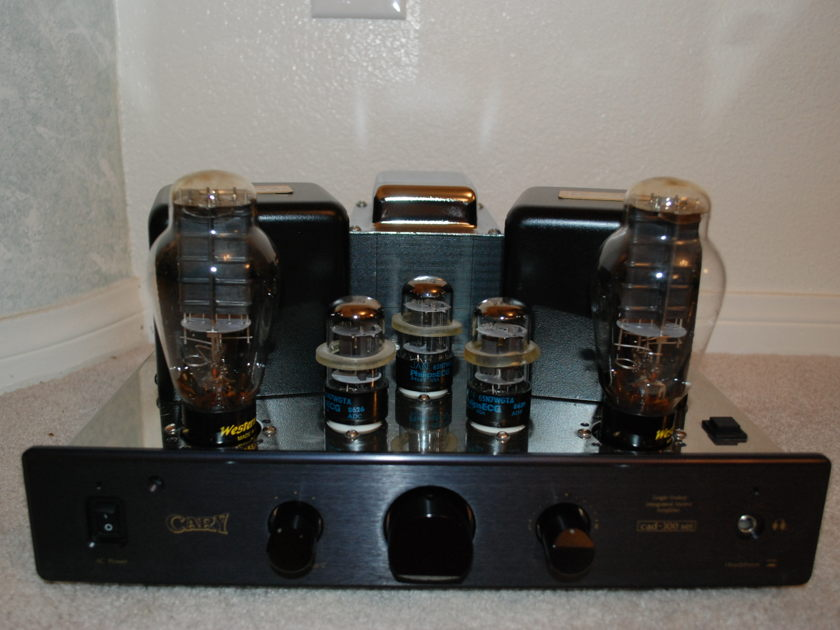 Cary 300B LX20 integrated Amp Black Stereophile Class A rated Option w/300B Western Electric