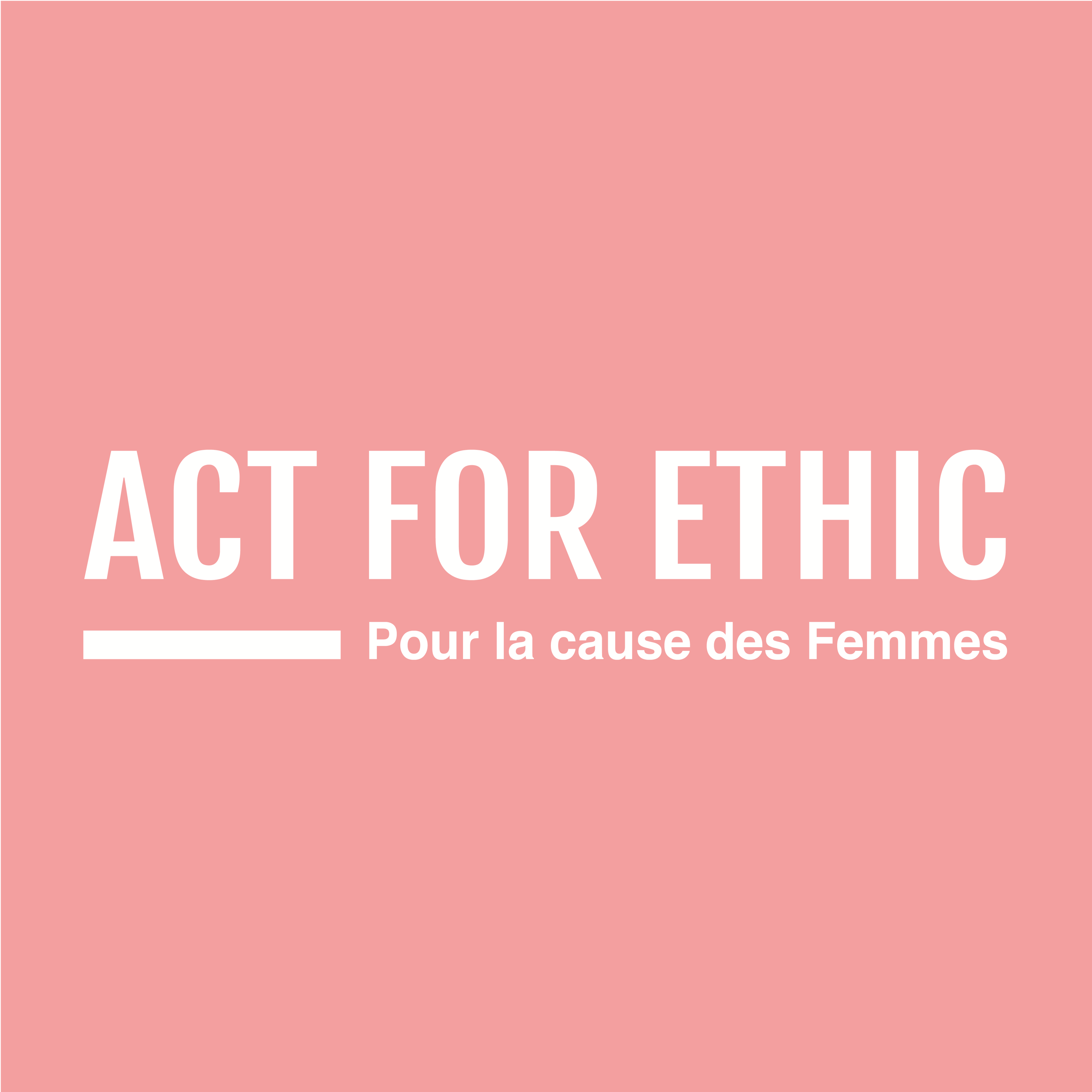 act for ethics, femme