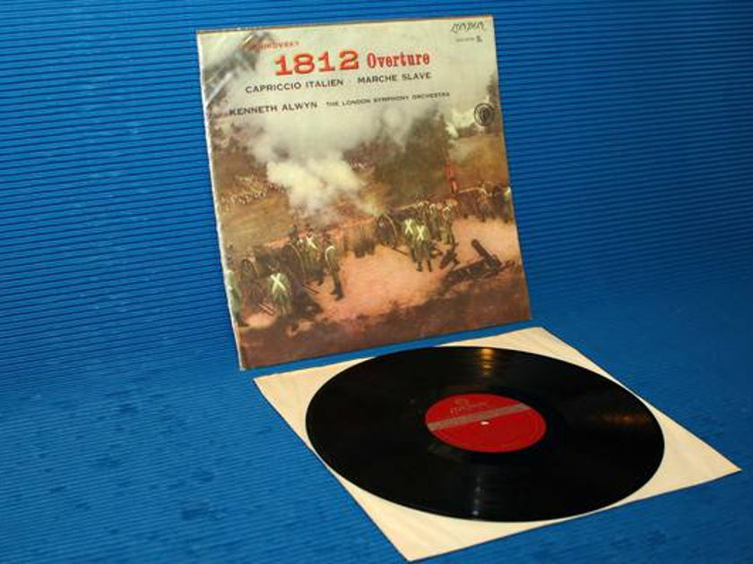 "TCHAIKOVSKY/Alwyn - - ""1812 Overture"" - London Brazil 'Blue Back' 1958 early pressing"
