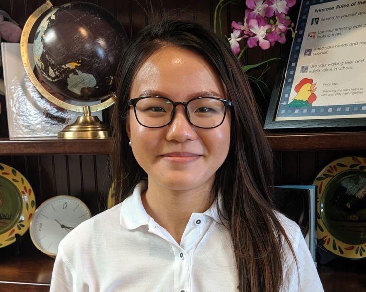 Ms. Jillian Chan , Preschool Assistant Teacher