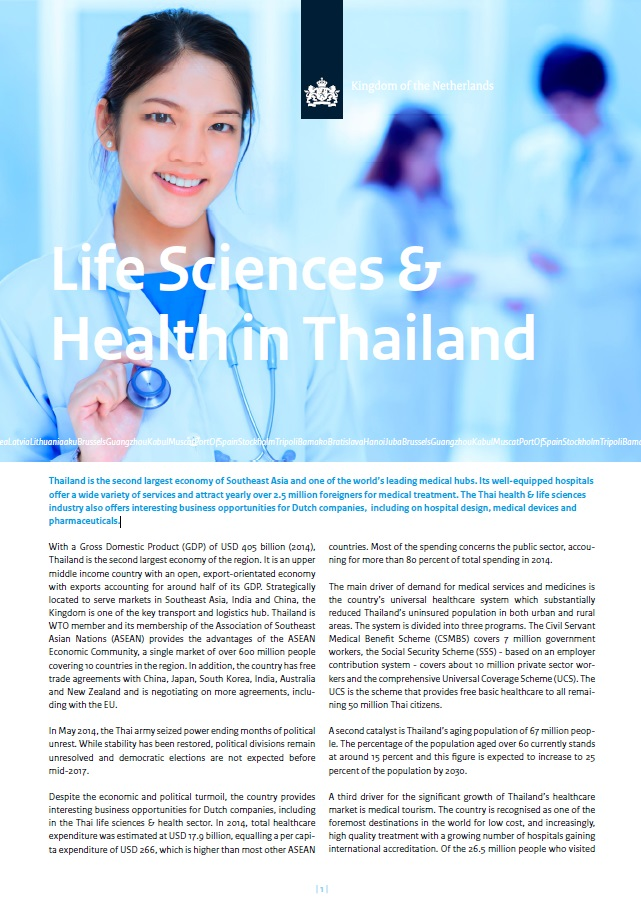 Life Sciences & Health in Thailand