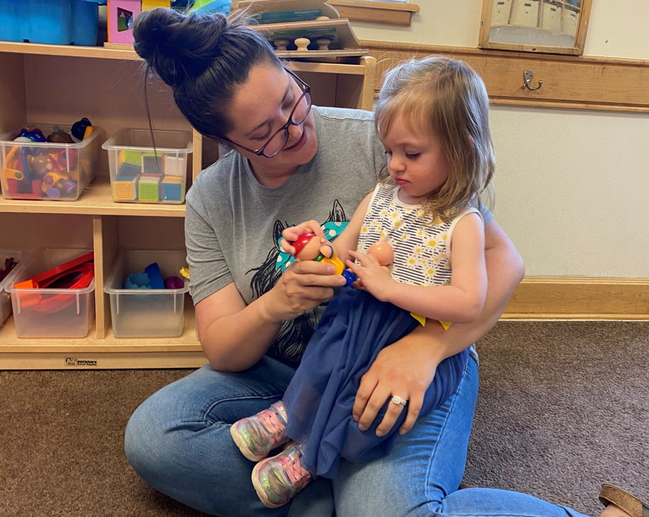 Caitlin Trueblood , Lead Toddler Teacher