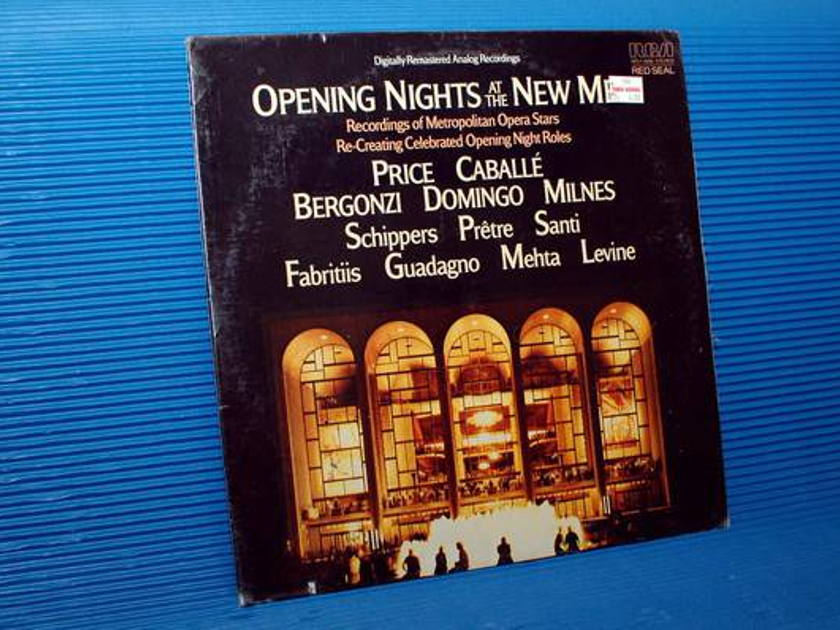 """""""OPENING NIGHTS AT THE NEW MET"""" -  - Various Performers -  RCA Red Seal 1983 Sealed"""