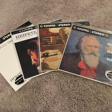 Four Heifetz Violin Concertos - Beethovan,