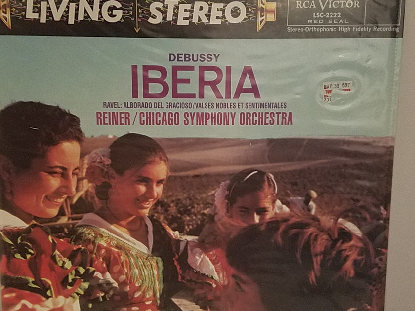 RCA LSC 2222 Reiner Chicago Symphony - Debussy Iberia Classic Records - Still Sealed