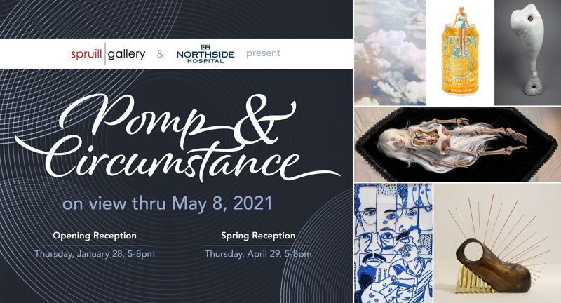 Pomp & Circumstance: Spring Reception at the Spruill Gallery