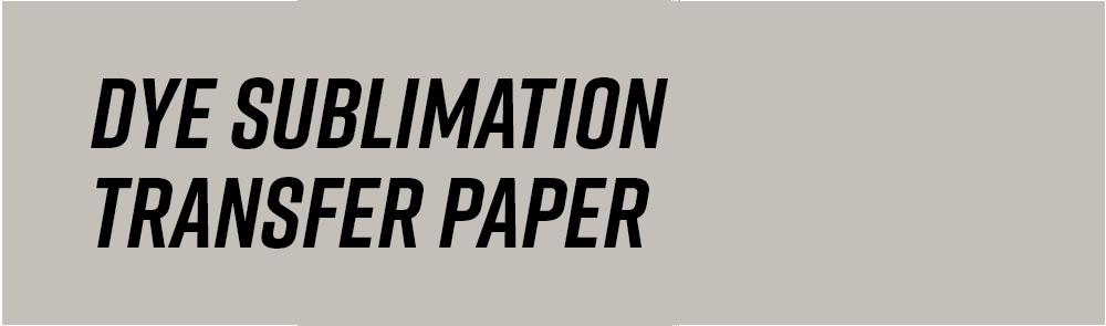 Dietzgen Dye Sublimation Transfer Paper