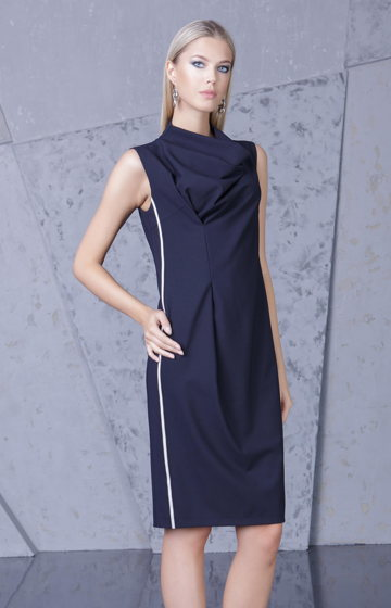 Платье темно-синее Bonali 4066-0560