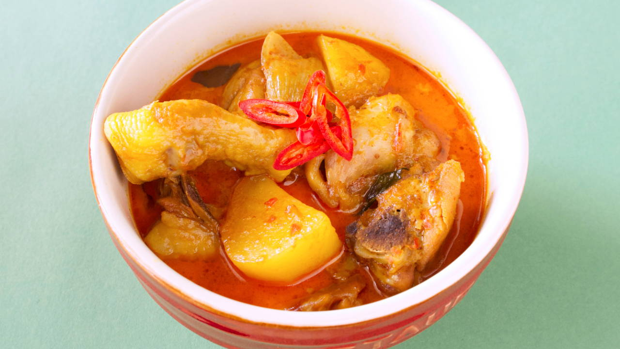 Malaysian Curry Chicken