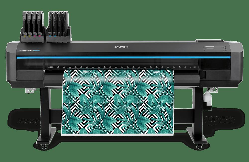 "Mutoh XpertJet 1682WR 64"" Large Format Dye Sublimation Printer"