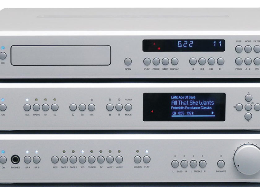 T+A Elektroakustik SACD1260R Silver Finish.  T+A SACD1260R CD Player Silver