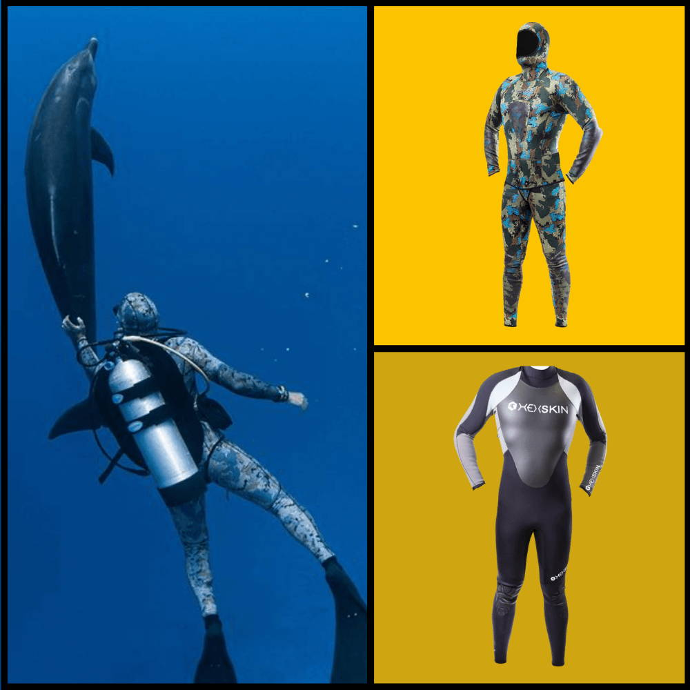 Best wetsuits and deep sea diving suits