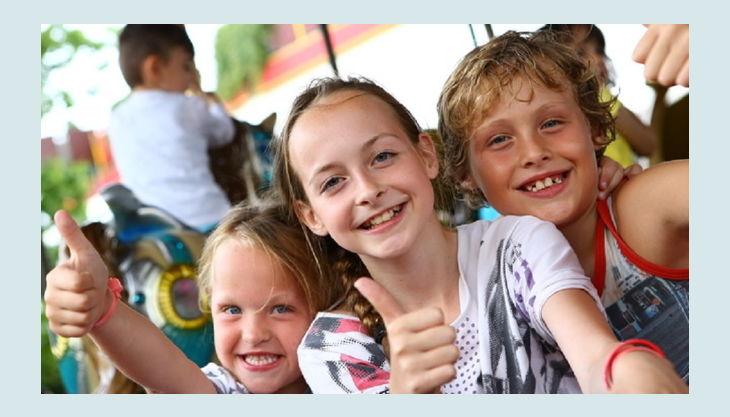 kernwasser wunderland freizeitpark glückliche kinder