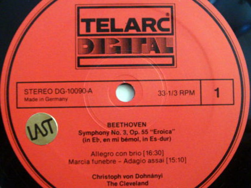 ★Audiophile★ Telarc / DOHNANYI, - Beethoven Symphony No.3 Eroica, MINT!
