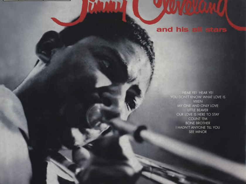 Jimmy Cleveland - Introducing Jimmy Cleveland and his Orchestra (Speakers Corner) OOP