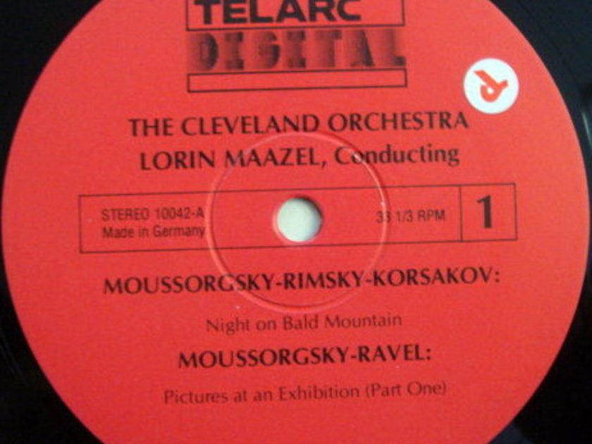 ★Audiophile★ Telarc / MAAZEL, - Moussorgsky Pictures at an Exhibition, MINT!