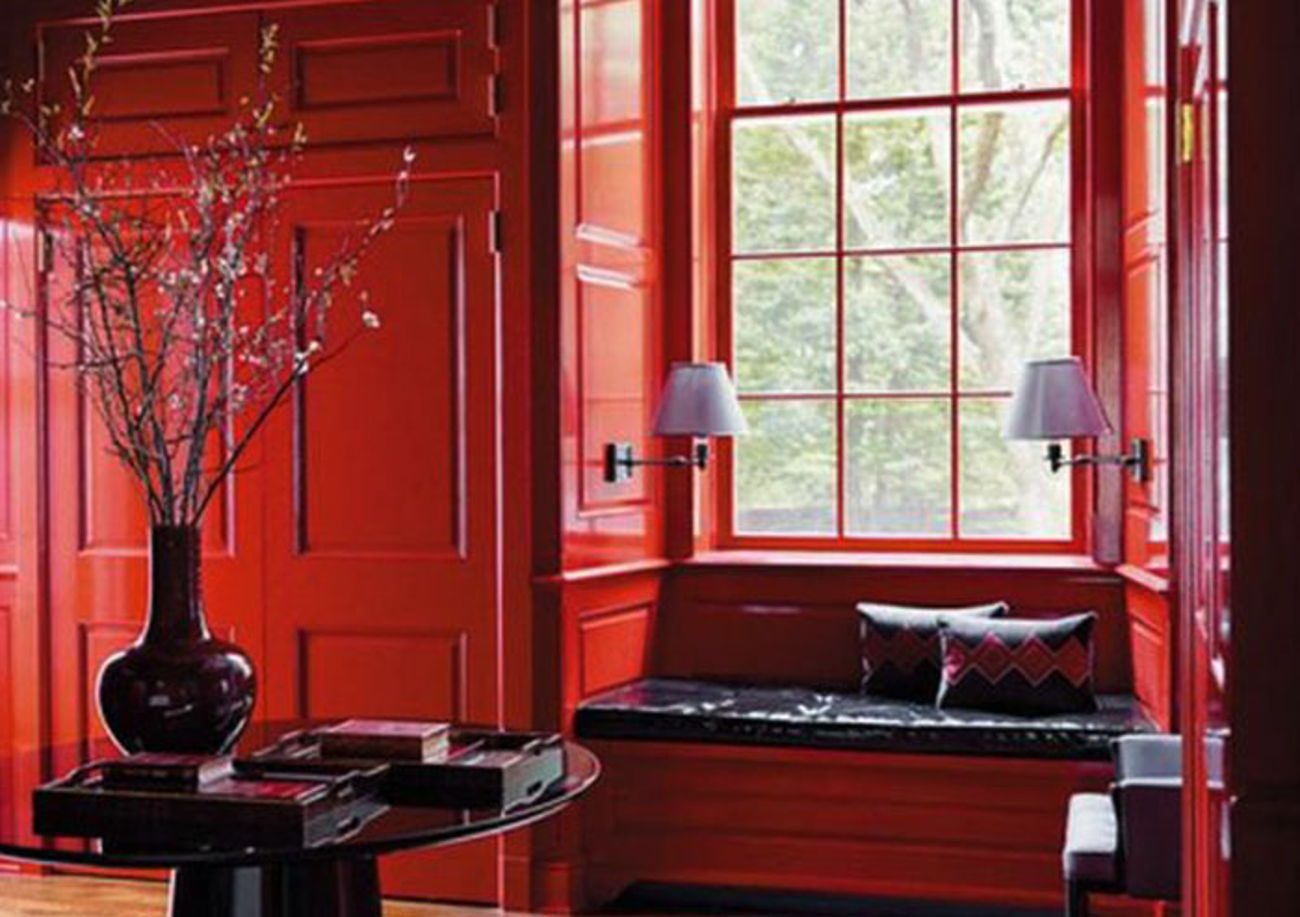 Red Monochromatic design