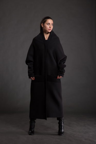 Пальто Tringle из неопрена