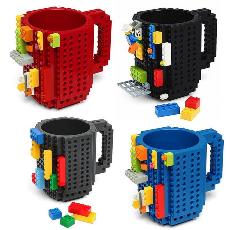 LEGO Coffee Mugs With Inscriptions
